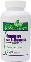 Cranberry with D-Mannose, 90 Vegetarian Capsules